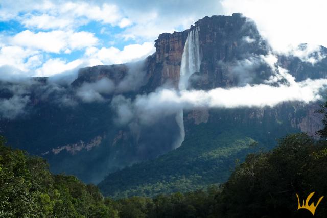 Venezuela Salto Angel Cascada
