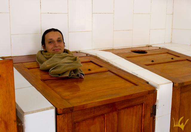 Ecuador baño de cajón
