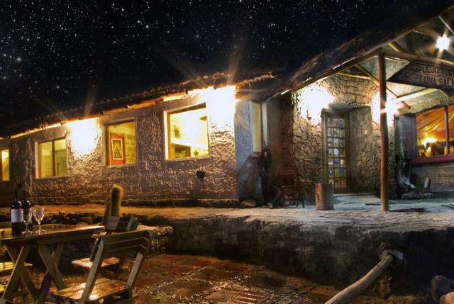 Bolivia Salar de Uyuni Luna Salada Hotel Sal