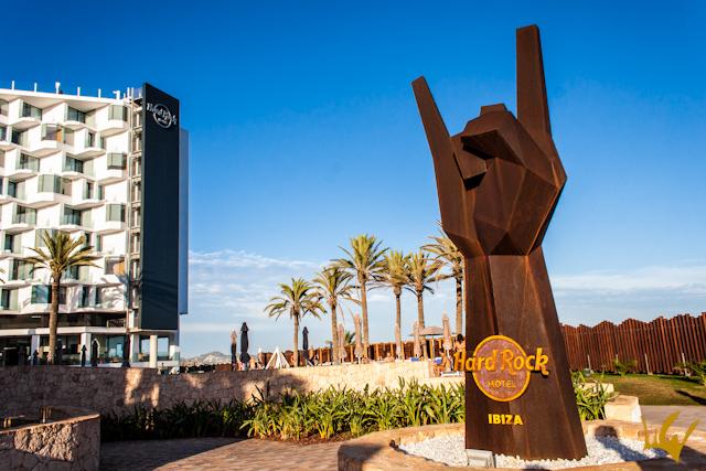 Ibiza Hard Rock Hotel Exterior