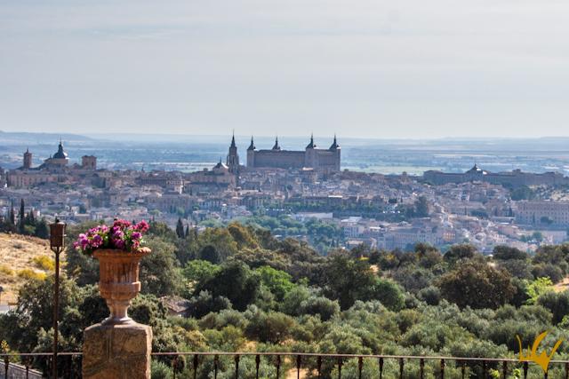 Toledo Cigarral de las Mercedes Vista Panoramica