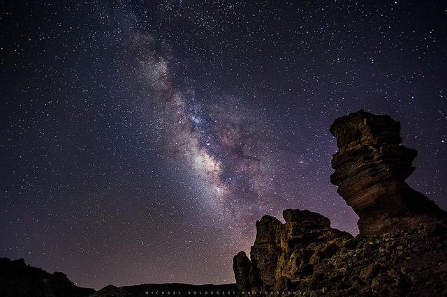 Cielo estrellas Parque Nacional Teide Tenerife