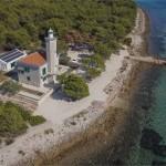 Croacia Isla de Vir Villa Lanterna Aero