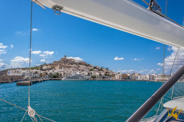 Goleta S.Y.Aiglon Ibiza Dalt Vila