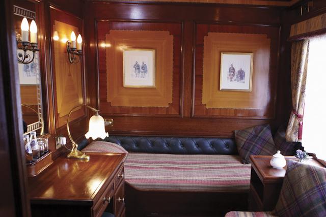 Royal Scotsman Interior