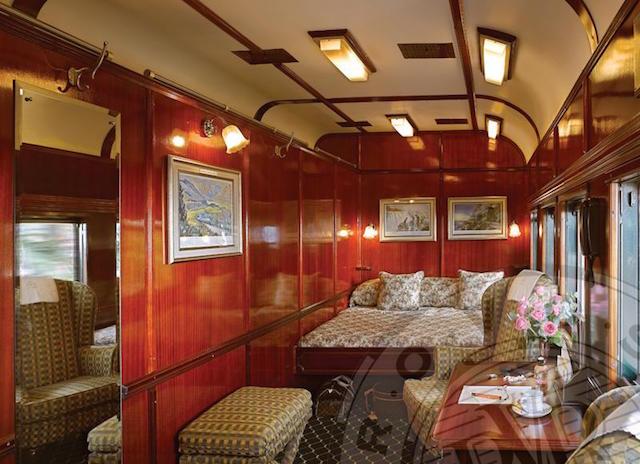 Tren de lujo Rovos Rail Suite