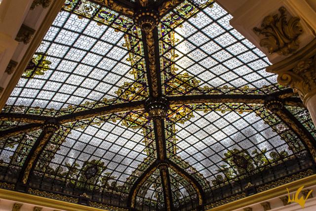 Madrid Casino Gran Via Vidriera Techo