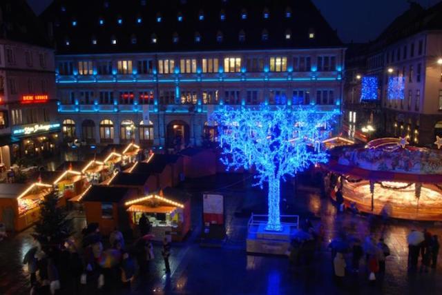 Mercado Navidad Estrasburgo Puestos