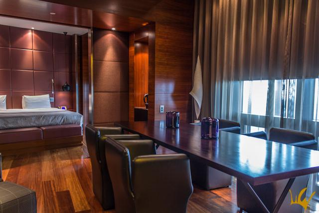 Hotel Eurostars Madrid Tower Habitacion Sala