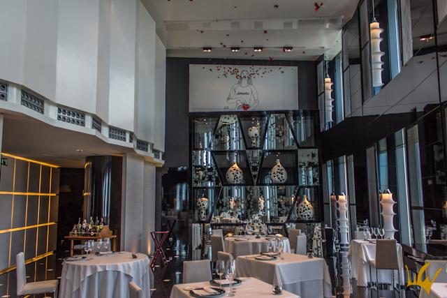 Hotel Eurostars Madrid Tower Restaurante Volvoreta Nina Boy