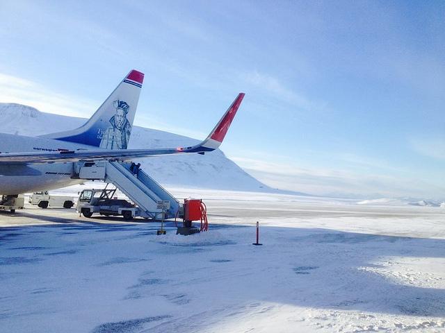 Longyearbyen Airport Butz
