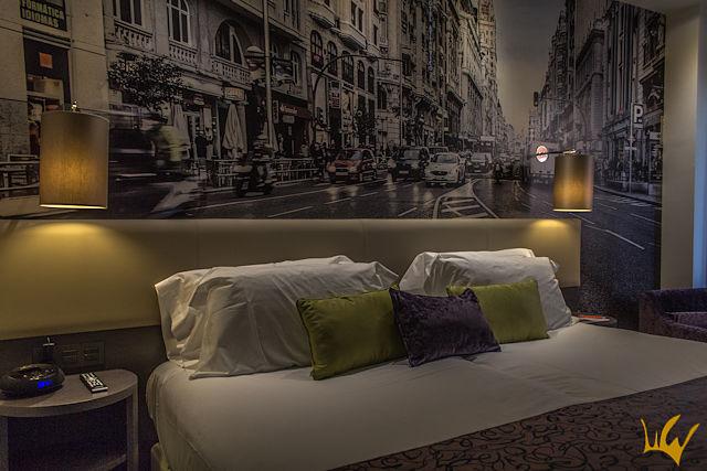 Madrid Hotel Indigo Habitacion