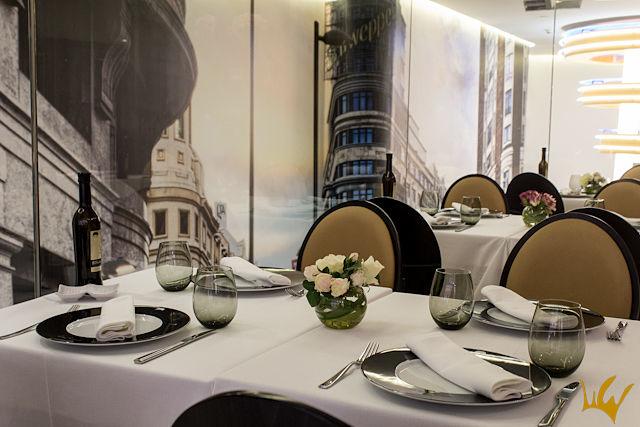 Madrid Hotel Indigo Restaurante Andrea Tumbarello