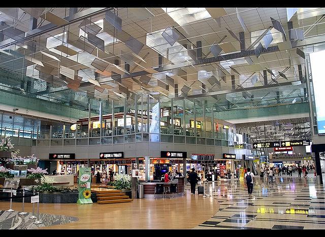 Aeropuerto Changi Christian Junker