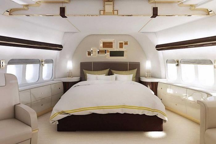Boeing 747-8 Habitacion