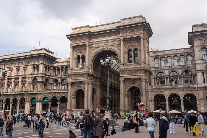 Italia Milano Galleria Vittorio Emanuelle II