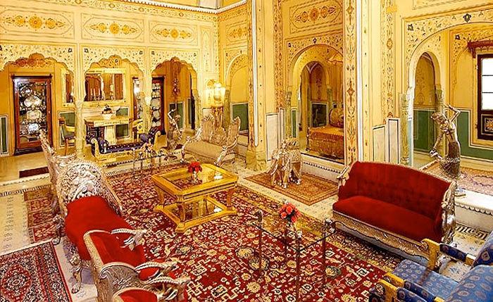 Shahi Mahal Suite Raj Palace Jaipur India