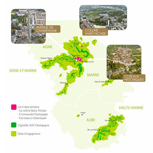 Champan Patrimonio UNESCO mapa