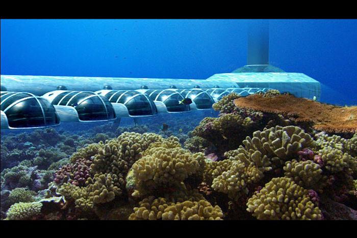 Poseidon undersea resort suites de lujo bajo el mar for Como se llama el hotel que esta debajo del mar
