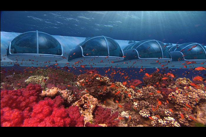 Poseidon undersea resort suites de lujo bajo el mar for Hotel bajo el agua precio