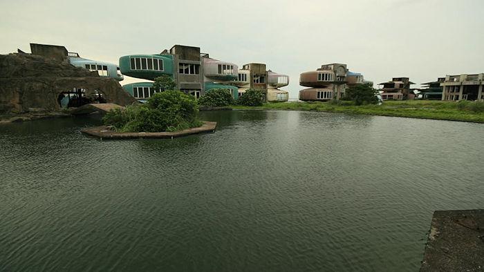 Sanzhi UFO Houses Cypherone