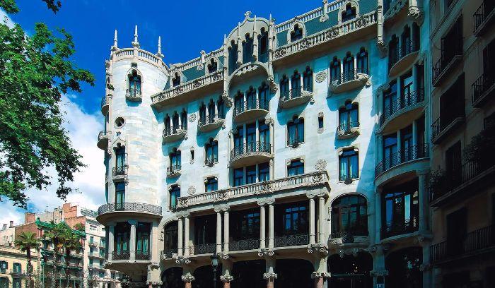 Hoteles Cine Barcelona Casa Fuster
