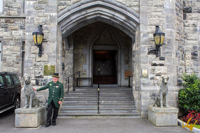 Irlanda Ashford Castle Entrada Principal