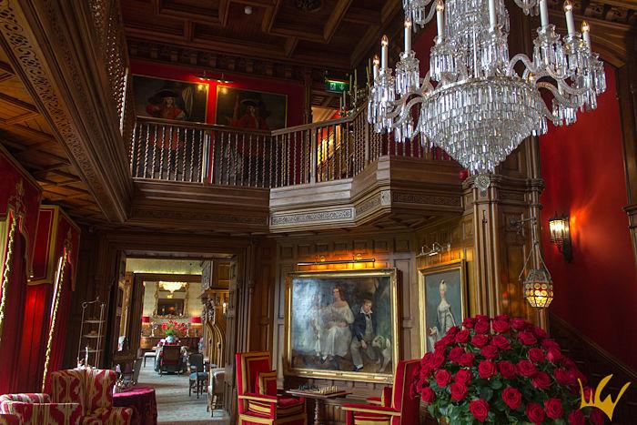 Irlanda Ashford Castle Lobby Prinicipal