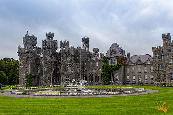 Irlanda Ashford Castle Vista Exterior